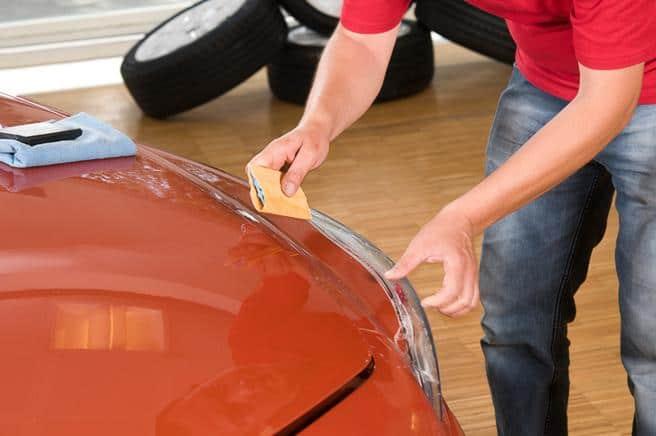 Protégez la peinture avec de la cire